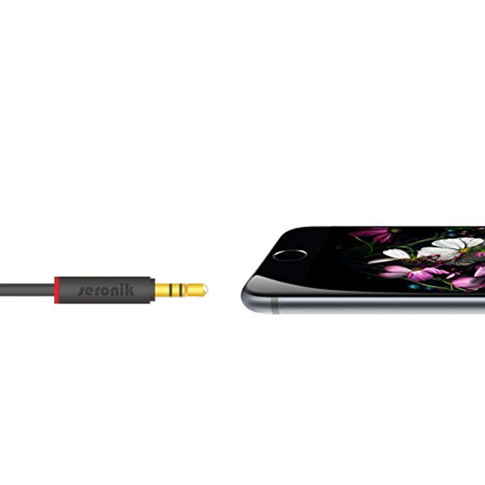 1m aux kabel 3 5mm klinke klinken stecker f r auto iphone. Black Bedroom Furniture Sets. Home Design Ideas